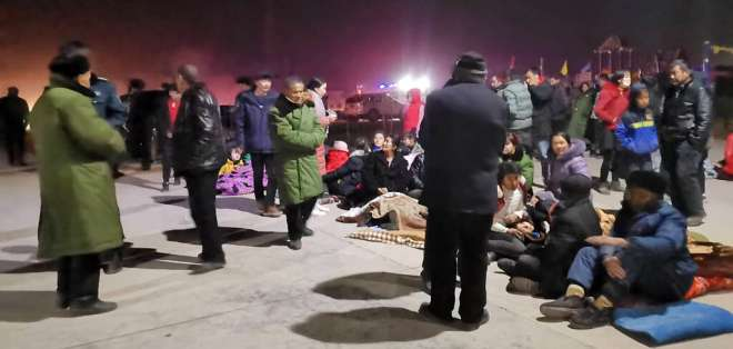 Los sismos son frecuentes en la región, que está en el límite con Asia Central. Foto: AP