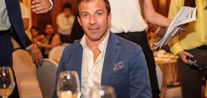 Alessandro del Piero, exjugador italiano. FOTO: BarcelonaSC