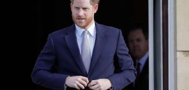 """Harry, de 35 años, ya no será """"miembro activo"""" de la familia real. Foto: AP"""