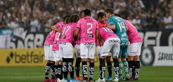 Jugadores de Independiente del Valle previo a un partido. Foto: Twitter.