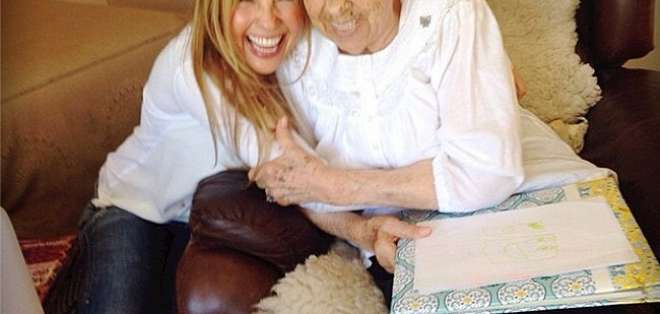 Eva Mange, abuela de Thalía, pasa parte de su tiempo en su centro de cuidados de adultos mayores. Foto: referencial