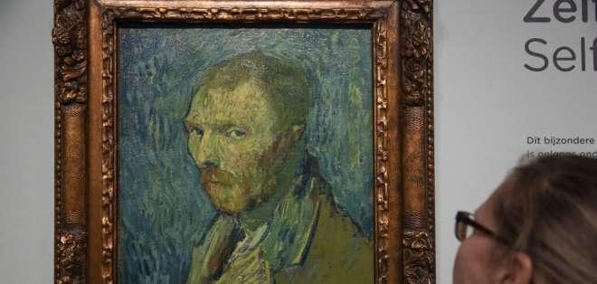 El autorretrato de Van Gogh cuya autenticidad fue confirmada por expertos el 20 de enero del 2020. Foto: AP