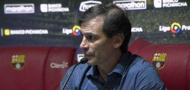 Fabián Bustos, entrenador de BSC.