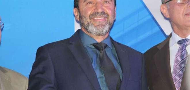 Nassib Neme, presidente del Club Sport Emelec. FOTO: Emelec