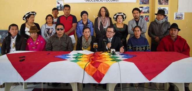 La agrupación reclama que la Fiscalía no haya investigado a las autoridades del Gobierno Nacional. Foto: API