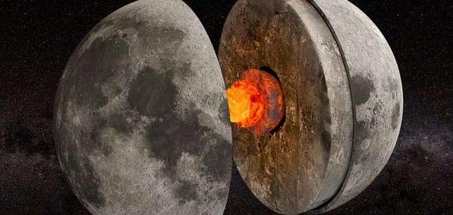 Hace miles de millones de años, el núcleo de la Luna funcionaba como un dínamo que generaba un campo magnético.