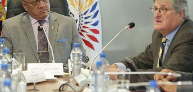El exembajador de Ecuador en Estados Unidos negó que se haya violado la soberanía. Foto: Tomada de @AsambleaEcuador