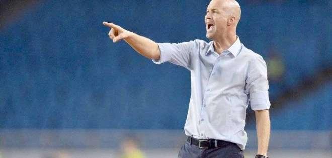Jordi Cruyff, entrenador de la 'Tri'.
