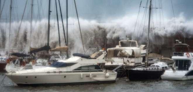 El gobierno español atribuye el fenómeno al cambio climático. Foto: JOSEP LAGO / AFP