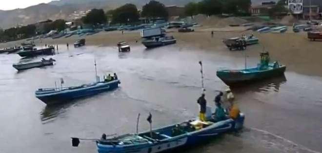 Los pescadores artesanales que incumplan la ley podrían pagar hasta 4 mil dólares. Foto: captura de pantalla