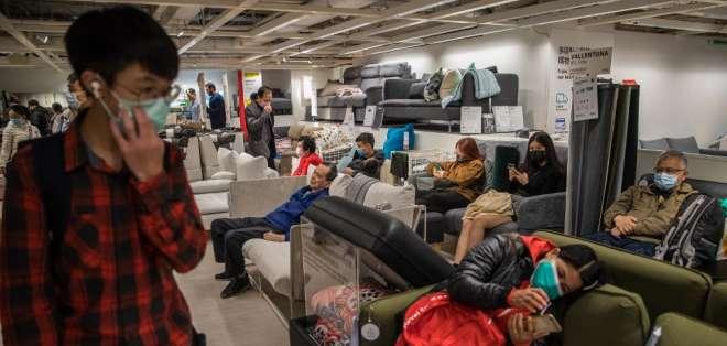 A pesar de su propagación, la OMS no ha declarado emergencia mundial. Foto: DALE DE LA REY / AFP