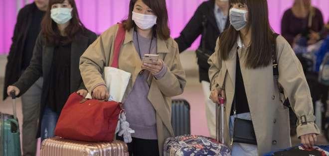 El país está a la espera de los resultados de los exámenes del ciudadano chino. Foto: Mark RALSTON / AFP