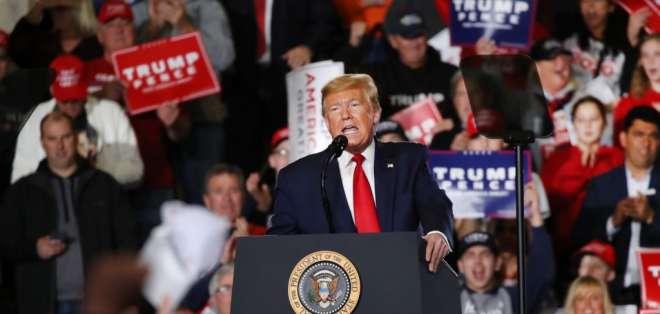 El juicio político contra el presidente de EE.UU. entra en etapa final. Foto: SPENCER PLATT / GETTY IMAGES NORTH AMERICA / AFP