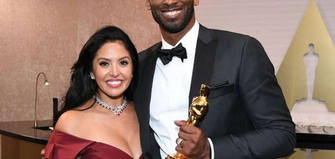 Vanessa y Kobe Bryant, FOTO: AFP