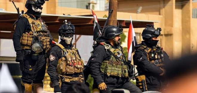 Imagen referencial del ejército iraquí. Foto: HAIDAR HAMDANI / AFP
