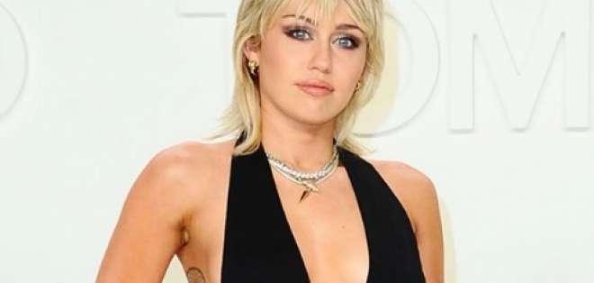 La cantante estadounidense Miley Cyrus posa para los fotógrafos. Foto: Instagram