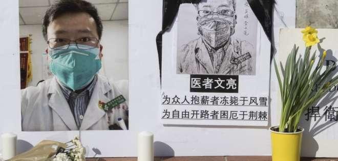 Coronavirus en China. Foto: AFP
