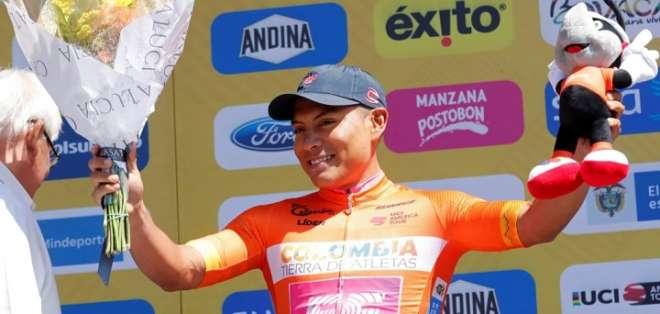 Caicedo celebra un logro. Foto: El Mercurio.