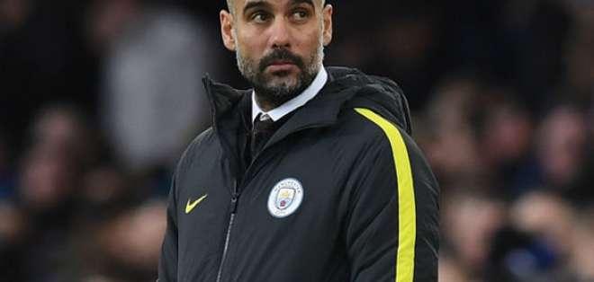 Pep Guardiola, entrenador español.