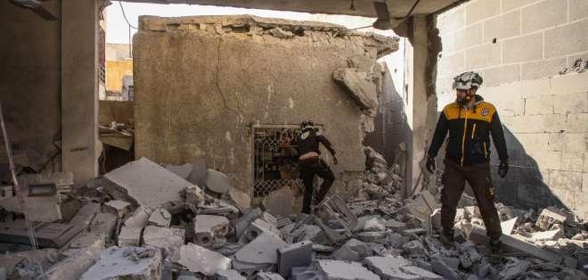 El ejército habría encontrado la fosa. Foto: AAREF WATAD / AFP