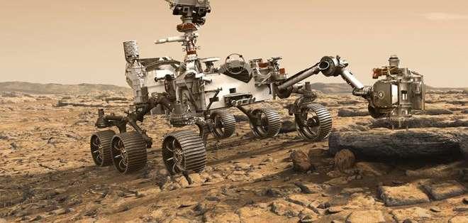 Mars 2020 intentará encontrar huellas de vida en Marte. Foto: Derechos de autor de la imagenNASA/JPL-CALTECH