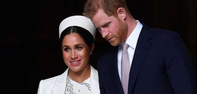El príncipe Harry y Meghan Markle, en una imagen de archivo. Foto: AFP
