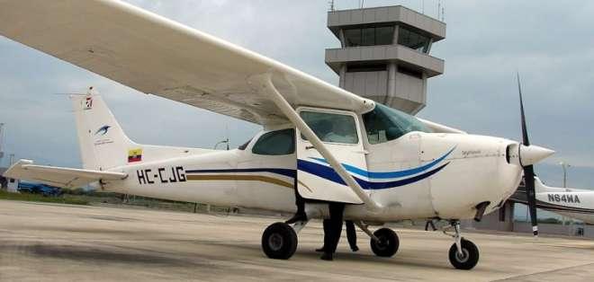 Imagen referencial de una avioneta Cessna tomada de Aviaciones AV.