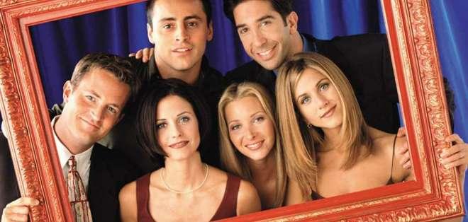 """Los protagonistas de """"Friends"""", en una foto de la popular comedia. Foto: Archivo Internet"""