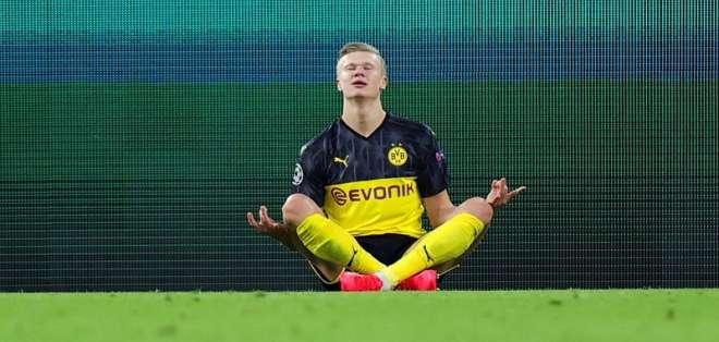 Erling Haaland figura del Borussia.