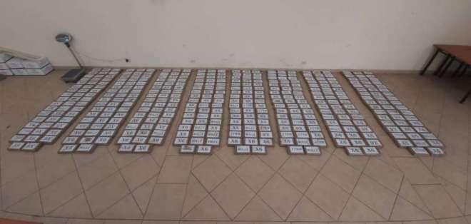 Se presume que el alcaloide iba a ser enviado a otros países. Foto: Policía Nacional