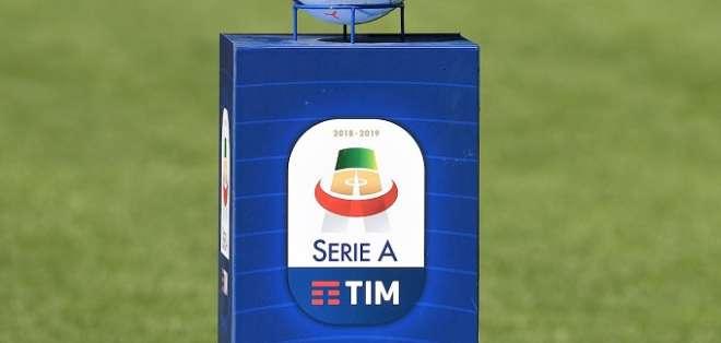 Pelota oficial del Calcio italiano. Foto: Internet.