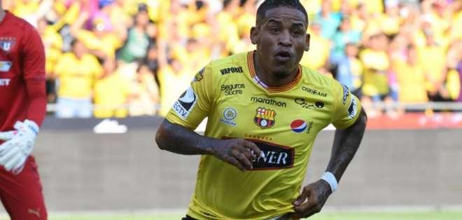 Joffre Guerrón, en su paso por BSC.