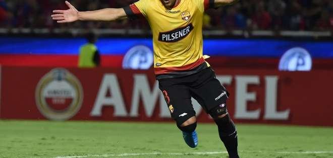 Emmanuel Martínez, jugador de BSC. Foto: Libertadores.