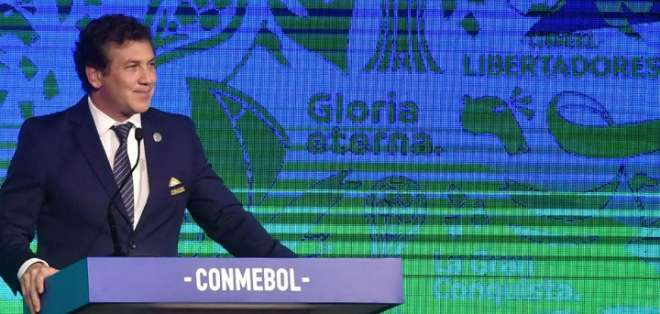Alejandro Dominguez, presidente de Conmebol. Foto: Internet.