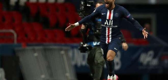 Neymar, jugador del PSG. Foto: Internet.
