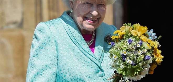 La reina Isabel II pasa la cuarentena en el Castillo de Windsor. Foto: Archivo AFP