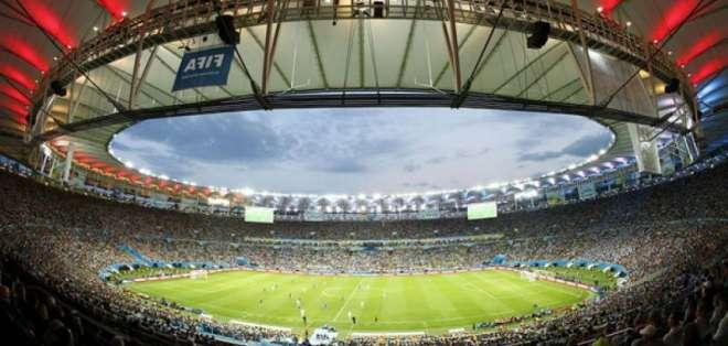Estadio Maracaná de Brasil.