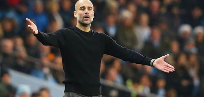 Guardiola, DT del Manchester City. Foto: Internet.