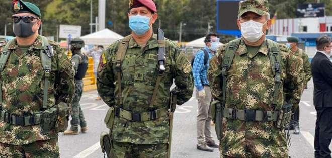 Imagen tomada de la cuenta de Twitter del Ejército de Colombia.