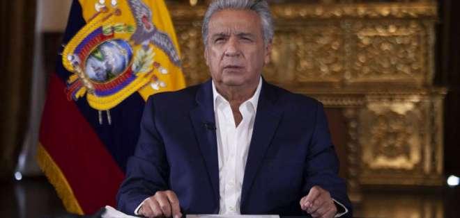 El presidente Lenín Moreno, en una imagen de archivo. Foto: Flickr Presidencia