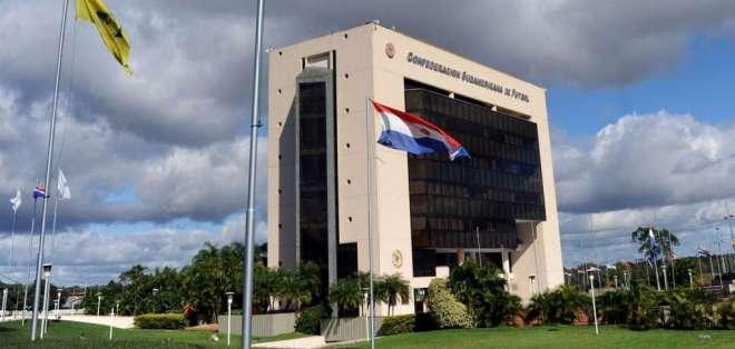 Edificio de la Conmebol. FOTO: ARCHIVO
