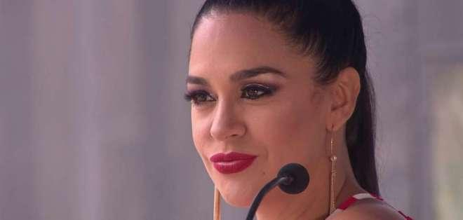 Flor María Palomeque, actriz y comediante guayaquileña.
