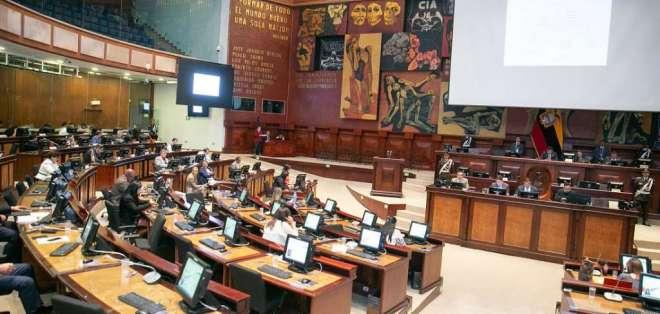Foto de archivo que muestra el Pleno de la Asamblea Nacional.
