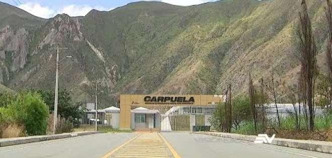 Centro de Entrenamiento para el Alto Rendimiento de Carpuela. Foto: Ecuavisa.