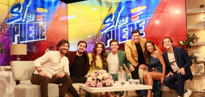Jaime Tamariz, José Andrés Caballero, Alejandra Jaramillo, Eduardo Maruri, Santiago Carpio, Joselyn Gallardo y Diego Chiang.
