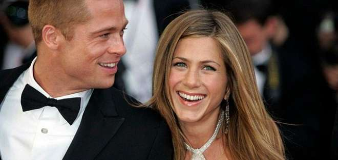 Jennifer Aniston y Brad Pitt, en una imagen de archivo. Foto: EFE