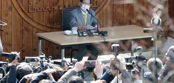 Lee Man-hee, de 88 años, es acusado también de malversar fondos. Foto: EFE.