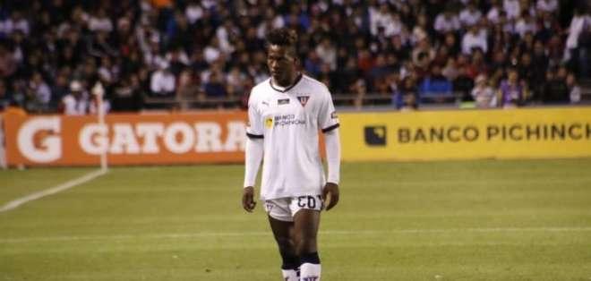 Jhojan Julio, jugador de Liga de Quito. Foto: Internet.