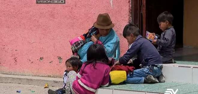 La desnutrición infantil crónica en Ecuador puede complicarse. Foto: Ecuavisa.