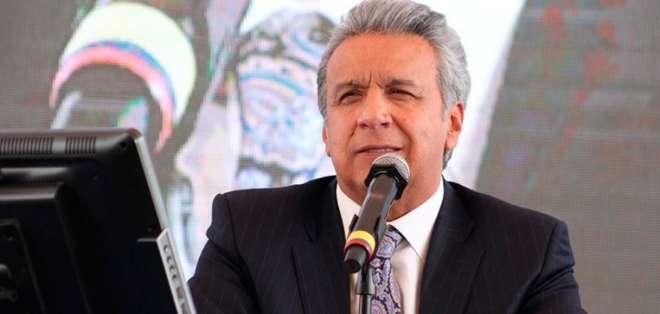 Lenín Moreno, presidente de Ecuador.